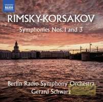 Rimsky-Korsakov: Symphonies Nos. 1 and 3