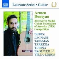 Guitar Laureate Recital - Armen Doneyan - Tarrega Turina Brouwer Villa-Lobos …