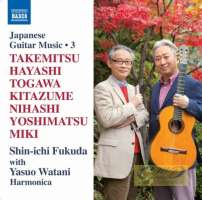 Japanese Guitar Music Vol. 3 - Takemitsu Hayashi Togawa …