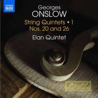 Onslow: String Quintets Vol. 1 - Nos. 20 and 26