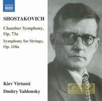 Shostakovich: Chamber Symphony; Symphony for Strings