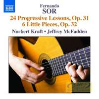 Sor: 24 Progressive Lessons 6 Little Pieces