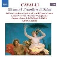 CAVALLI Francesco - Gli amori d\'Apollo e di Dafne / 8.660187-88