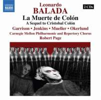 Balada: La Muerte de Colon, Opera in two acts