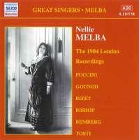 Nellie Melba - The 1904 London Recordings Vol.2