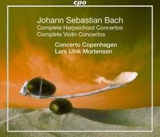 Bach: Complete Harpsichord Concertos & Complete Violin Concertos