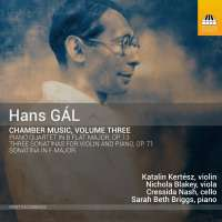 Gal: Chamber Music Vol. 3