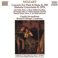 Mozart: Concerto for Flute and Harp, Sinfonia Concertante
