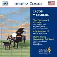 WEINBERG: Piano Concerto No 2; String Quartet, Op 55