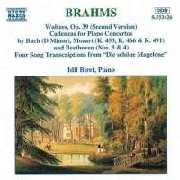 BRAHMS: Waltzes-Cadenzas