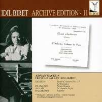 SAYGUN: Piano Concerto No. 1; 12 Preludes / FRANCAIX: Piano Sonata / ALKAN: Le chemin de fer