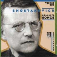 Shostakovich: Complete Songs, Vol 1