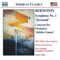 "BERNSTEIN: Symphony No.1 "" Jermiah """