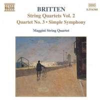 BRITTEN: String Quartets vol. 2