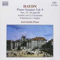 HAYDN: Piano Sonatas Nos. 17, 19 and 28 , Arietta con 12 Variazioni  (Vol. 9)