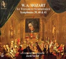 Mozart: Le Testament Symphonique - Symphonies Nos. 39, 40, 41