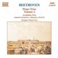 BEETHOVEN: Piano Trios vol. 4