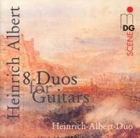 Albert: 8 duos for guitars