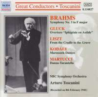 Brahms/Gluck/Kodály/Matucci: Orchestral Works
