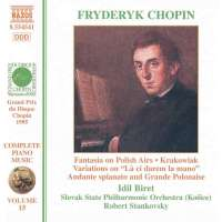 "CHOPIN: Piano Music - Fantasia On Polish Airs / Krakowiak / Variations On ""Là Ci Darem La Mano"" / Andante Spianato And Grande Polonaise"