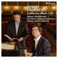 Prokofiev: Concertos nos. 1, 3 & 4