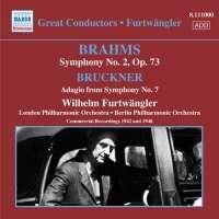 BRAHMS JOHANNES - Symphony No. 2 / BRUCKNER - Adagio from symphony 7