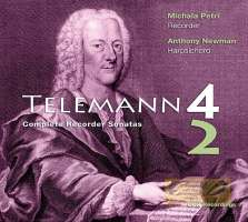 Telemann: Complete sonatas for recorder and basso continuo