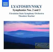 Lyatoshynsky: Symphonies Vol. 2 - Symphonies Nos. 2 & 3