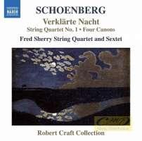 Schoenberg: Verklärte Nacht, String Quartet No. 1, Four Canons