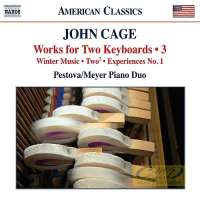 Cage: Works for Two Keyboards Vol. 3
