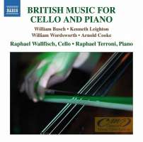 British Music for Cello and Piano - Busch; Leighton; Wordsworth; Cooke