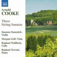 Cooke: Three String Sonatas