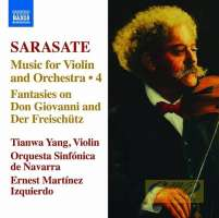 Sarasate: Music for Violin and Orchestra Vol. 4