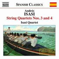 ISASI: String Quartets Nos. 3 & 4
