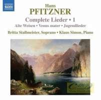 Pfitzner: Complete Lieder Vol. 1