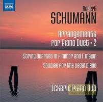 Schumann: Arrangements for Piano Duet Vol. 2