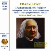 Liszt: Complete Piano Music Vol. 36 - Transcriptions of Wagner