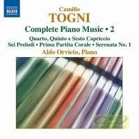 Togni: Complete Piano Music • 2