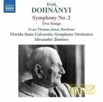 Dohnanyi: Symphony No. 2; Two Songs