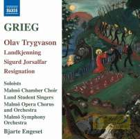 Grieg: Olav Trygvason, Sigurd Jorsalfor