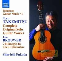 Takemitsu: Complete Original Solo Guitar Works + Brouwer