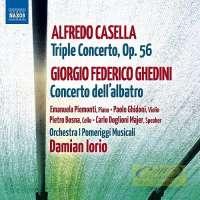 Casella: Triple Concerto, Giorgio Federico Ghedini: Concerto dell'albatro