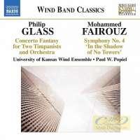 Glass: Concerto Fantasy, Fairouz: Symphony No. 4