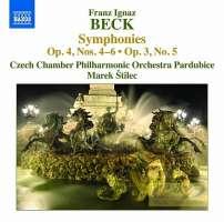 Beck: Symphonies Op. 4 Nos. 4-6 & Op. 3 No. 5