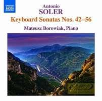Soler: Keyboard Sonatas Nos. 42 - 56