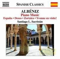 Albeniz: Piano Music Vol. 6 - España; Deseo; Zortzico; Yvonne en visite!