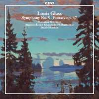 Glass: Symphony No. 5; Fantasy for Piano & Orchestra