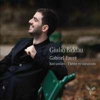 Fauré: Thème & Variations & Barcarolles