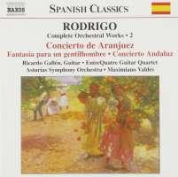 RODRIGO: Concierto de Aranjuez; Concierto Andaluz (Complete Orchestral Works, Vol. 2)