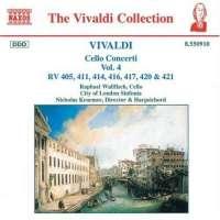 VIVALDI: Cello Concerti RV 405, 411